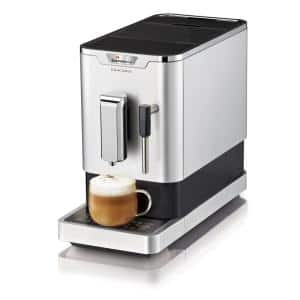 Concierge Fully Automatic Bean-To-Cup Stainless Steel Espresso Machine with Automatic Shut-Off