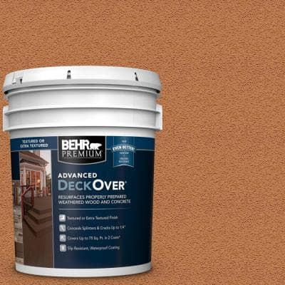 5 gal. #SC-533 Cedar Naturaltone Textured Solid Color Exterior Wood and Concrete Coating