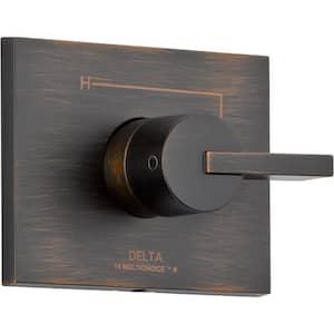 Vero Monitor 14 Series 1-Handle Temperature Control Valve Trim Kit in Venetian Bronze (Valve Not Included)