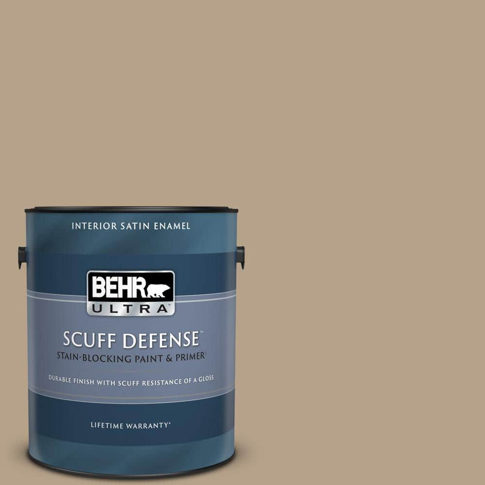 BEHR ULTRA 1 gal. #PPU7-06 Chateau Extra Durable Satin Enamel Interior Paint & Primer