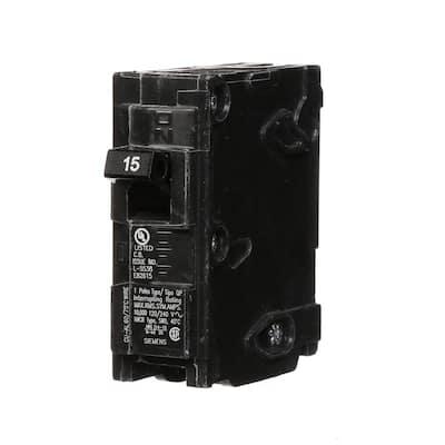 15 Amp Single-Pole Type QP Circuit Breaker