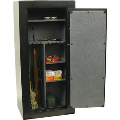 30 Gun Fire Rated, E-Lock Gun Safe, Black Textured