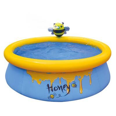 Bee Spray 5 ft. Round 16.5 in. Kiddie Pool