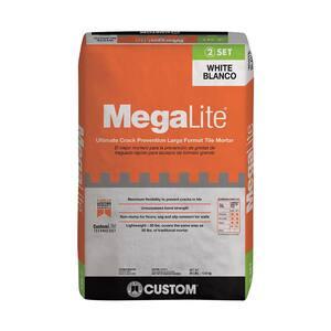 MegaLite 30 lb. White Crack Prevention Mortar