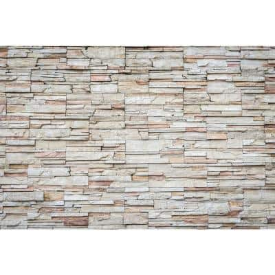 Glam Travertine Farm and Country Wall Mural