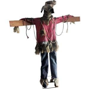 79 in. Animatronic Scarecrow