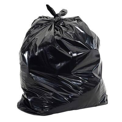 20 Gal.-30 Gal. 1.5mil (eq) 30 in. x 36 in. Low-Density Plastic Garbage Trash Bags (100-Count)