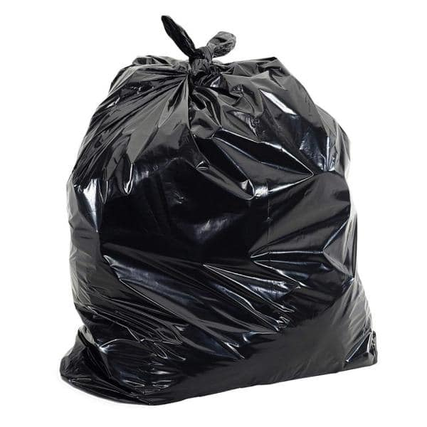 Aluf Plastics 20 Gal 30 Gal 1 5mil Eq 30 In X 36 In Low Density Plastic Garbage Trash Bags 100 Count Rcm 3036 The Home Depot