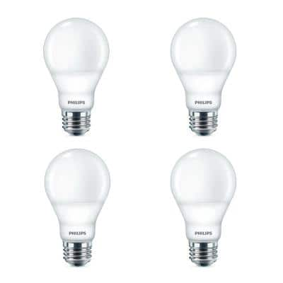 40-Watt Equivalent A19 Dimmable Energy Saving LED Light Bulb Daylight (5000K) (8-Pack)