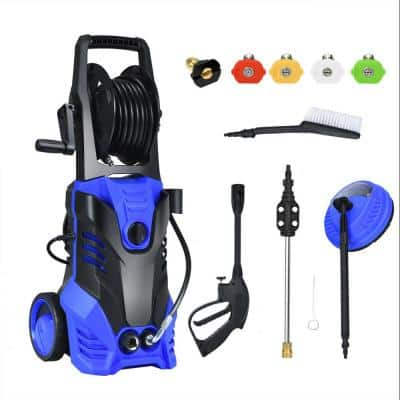 2030 PSI 2 GPM Hot/Cold Water Electric High Pressure Washer with Patio Cleaner and 5 Nozzles