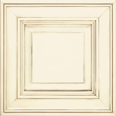 Camden 14 1/2 x 14 1/2 in. Cabinet Door Sample in Maple Cotton with Toasted Almond