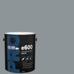 Behr Pro 1 Gal N450 4 Moonquake Satin Enamel Exterior Paint Pr64301 The Home Depot