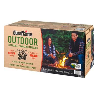 3.2 lbs. Outdoor Firelogs (6-Pack)