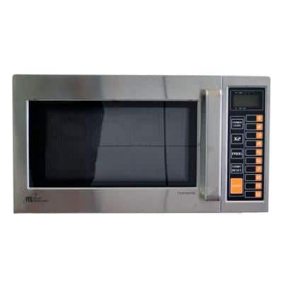 0.9 cu. ft. 1000-Watt Countertop Commercial Microwave in Stainless Steel