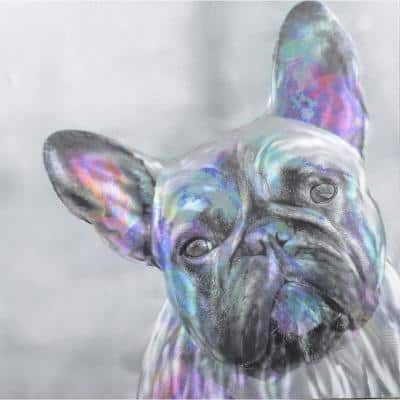 Metal Art French Bulldog