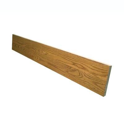0.75 in. x 7.5 in. x 60 in. Prefinished Marsh Red Oak Riser