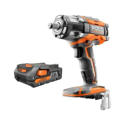 18V OCTANE Brushless Cordless 1/2 in. Impact Wrench with 2.0 Ah Battery