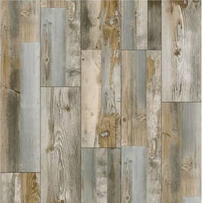 Gray Cottage Pine 7.1 in. W x 48 in. L x 5 mm T Rigid Core Vinyl Plank (23.64 sq. ft./case)
