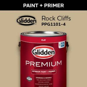 Glidden Maintenance 5 Gal Flat Interior And Exterior Paint 920 05 The Home Depot