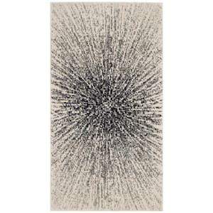 Evoke Black/Ivory 2 ft. x 4 ft. Area Rug