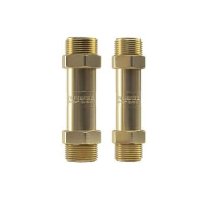 3/8 in. No-Vac Coupler and 3/4 in. No-Vac Coupler for Universal