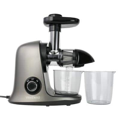 Cold Press Juicer Extractor Machine, Masticating Slow Juicer Quiet Motor For Juicing Fruits, Vegetables and Greens