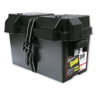 HM318BK Group 24-31 Snap-Top Battery Box