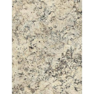 5 ft. x 10 ft. Laminate Sheet in Typhoon Ice with Premium Quarry Finish