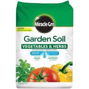 Moisture Control 1.5 cu. ft. Garden Soil for Vegetables and Herbs