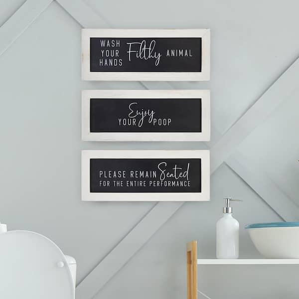 Stratton Home Decor Bathroom Humor Wall, How To Decorate Bathroom Walls