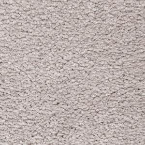 Castle II - Color Morning Shadow Textured 12 ft. Carpet