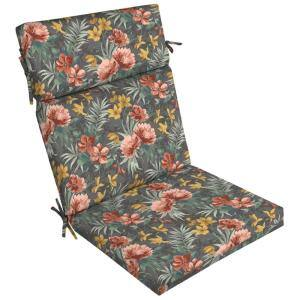 21 in. x 24 in. Dining Chair Cushion in Phoebe Floral