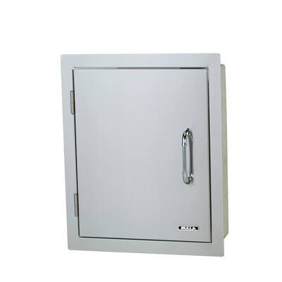 17.87 in. x 22 in. x 15 in. Vertical Single Storage Door Left Swing Double Walled