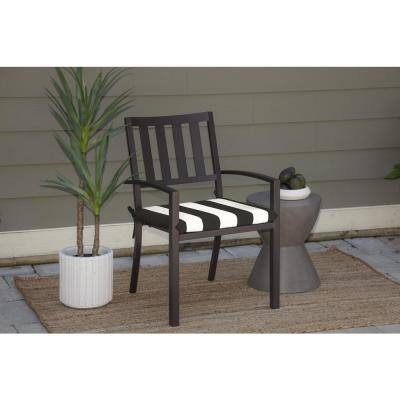 Oak Cliff 20 x 18 Sunbrella Cabana Classic Outdoor Chair Cushion (2-Pack)