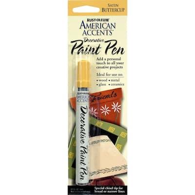 Satin Buttercup Decorative Paint Pen (6-Pack)