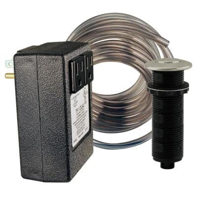 Garbage Disposal Air Switch in Satin Nickel