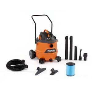 16 Gallon 6.5-Peak HP NXT Wet/Dry Shop Vacuum with Cart, Fine Dust Filter, Hose and Accessories