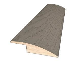 Optiwood Glenwood 3 8 In Thick X 1 1 2 In Wide X 78 In Length Hardwood Overlap Reducer Molding M279wk4lrd The Home Depot
