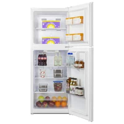 7 cu. ft. Top Freezer Refrigerator in White, Counter Depth