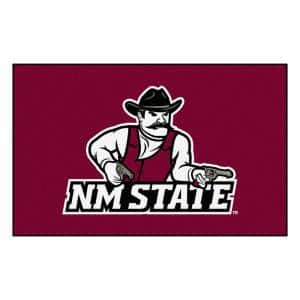 NCAA New Mexico State University Red 5 ft. x 8 ft. Area Rug