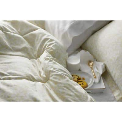 Stencil Leaf Legends® Hotel Cotton Sateen Comforter