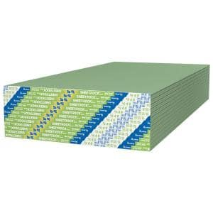 5/8 in. x 4 ft. x 8 ft. Mold Tough Firecode X Drywall