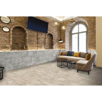 Euro Vidoque Tortora 12 in. x 24 in. Porcelain Floor and Wall Tile (14.42 sq. ft. / case)