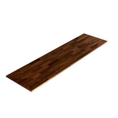 3/4 in. x 20 in. x 6 ft., Square Edge, Espresso, Acacia, Select Appearance Board