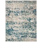Madison Gray/Blue 8 ft. x 10 ft. Area Rug