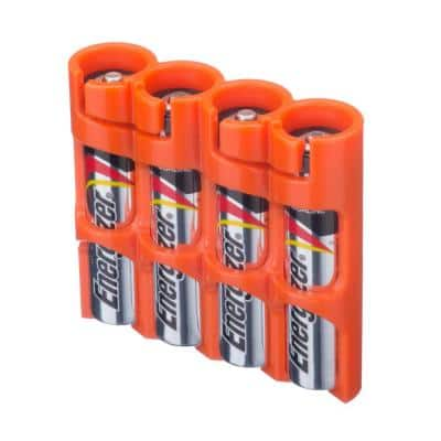 Slim Line AAA 4 Pack Battery Organizer and Dispenser