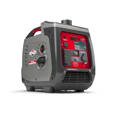 P2400 PowerSmart Series 2400-Watt Recoil Start Gasoline Powered Inverter Generator with OHV Engine featuring CO Guard