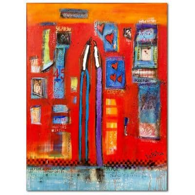 William DeBilzan Once Upon A Time 30 in. x 40 in. Gallery-Wrapped Canvas Wall Art