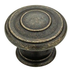 Harmon 1-3/8 in. (35mm) Warm Chestnut Round Cabinet Knob