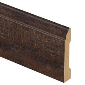San Leandro Oak 9/16 in. Thick x 3-1/4 in. Wide x 94 in. Length Laminate Base Molding